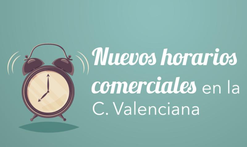 Nuevos horarios comerciales en la Comunidad Valenciana