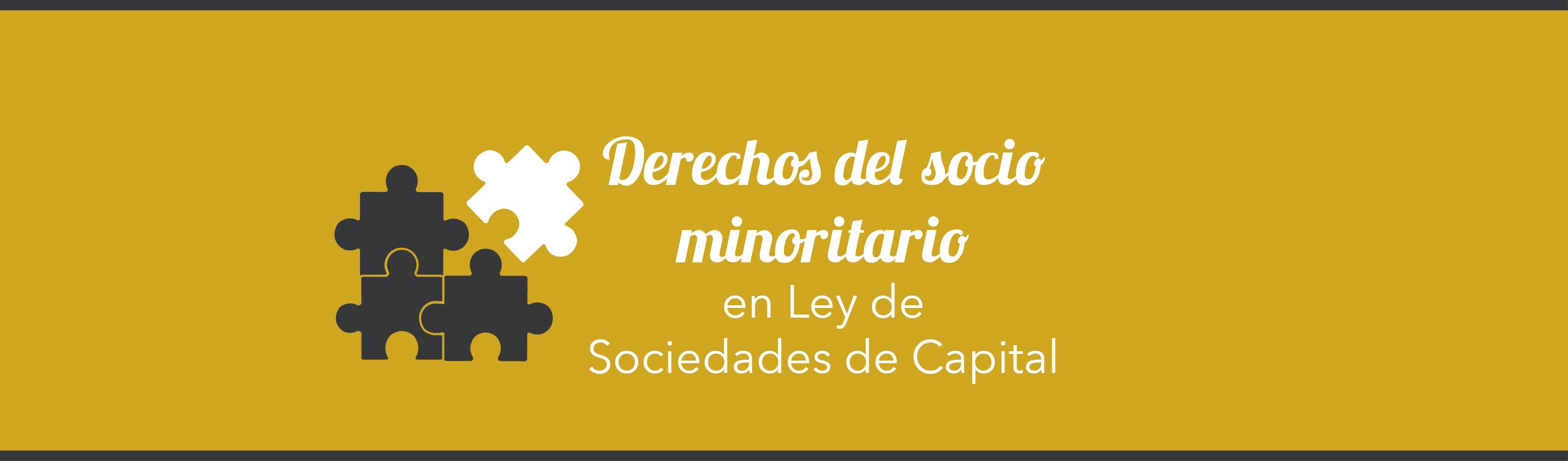 Derechos Del Socio Minoritario En La Lsc Tefisco