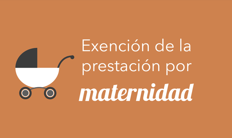 Exención de la prestación por maternidad en el IRPF