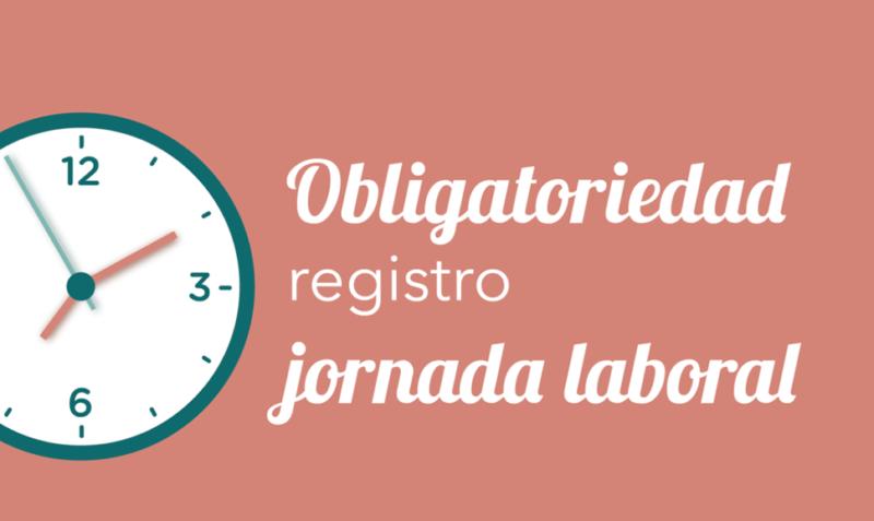 Obligatorio registrar la jornada laboral